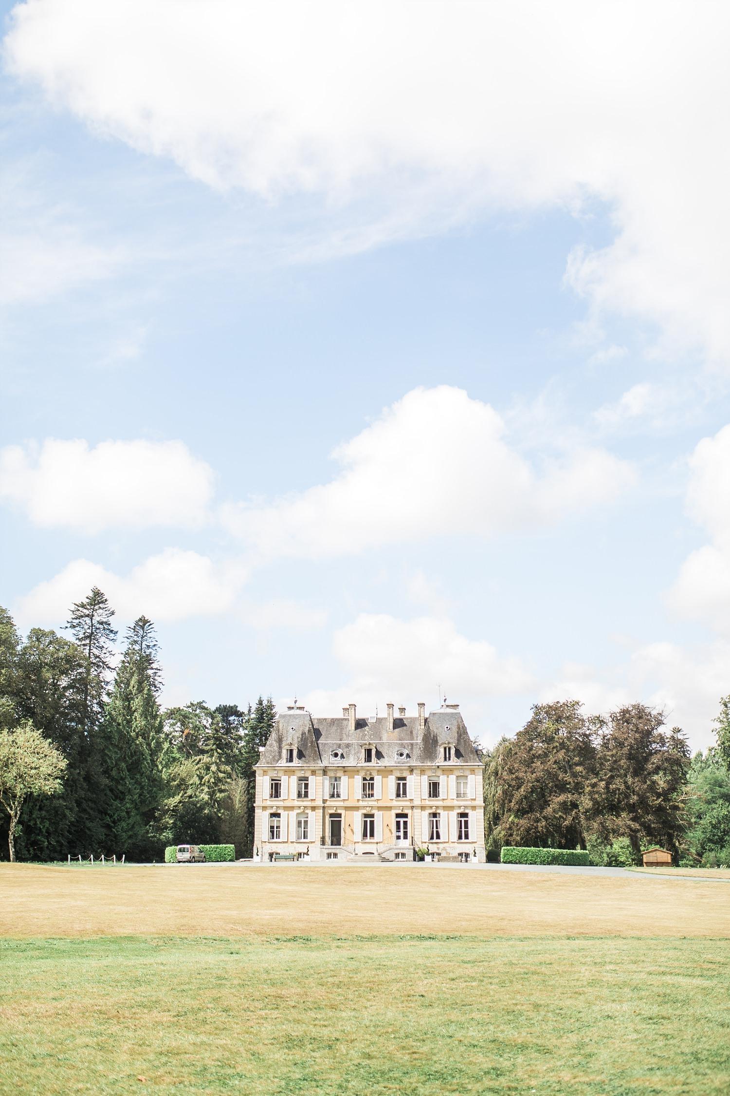 chateau du perron normandy wedding